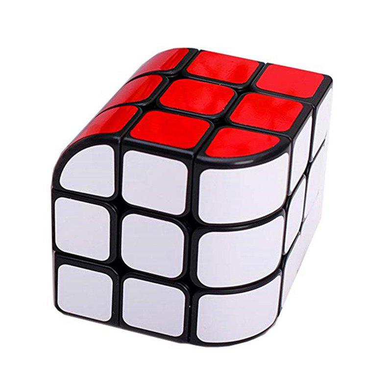 Latest Third-order Trihedral Bending Unequal Order Magic Cube Children Educational Toy