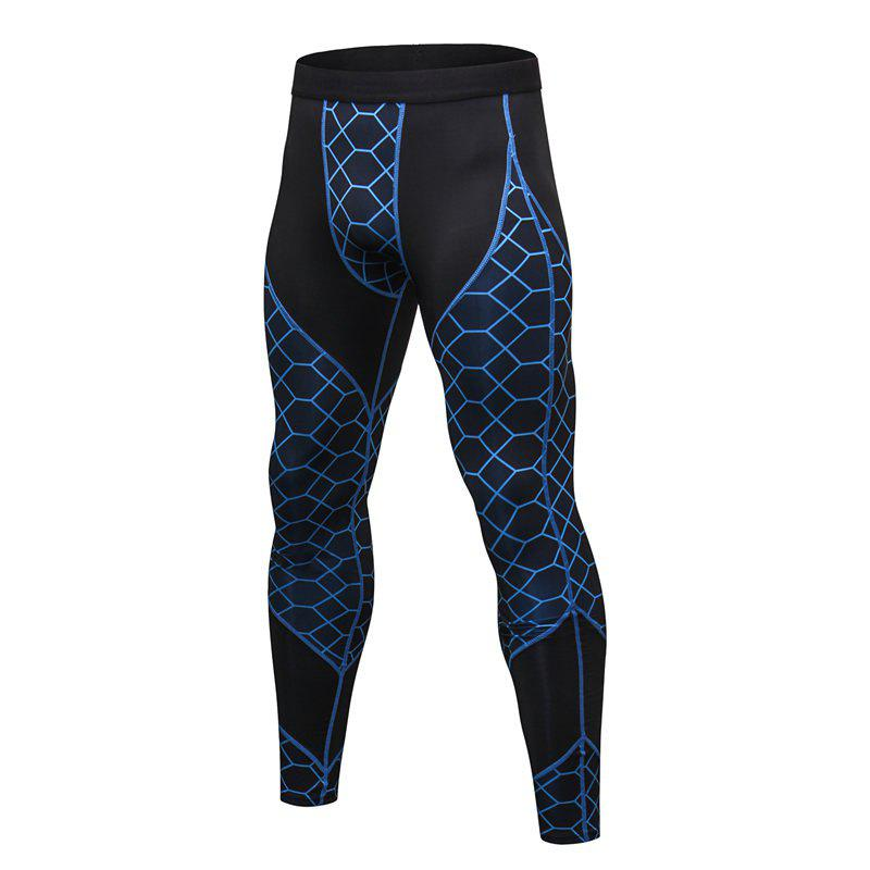 Store Men's Fitness Printing Sports Running Wicking Quick-drying Pants
