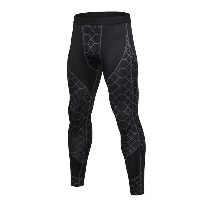 Outfit Men's Fitness Printing Sports Running Wicking Quick-drying Pants