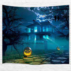 The Courtyard Pumpkin 3D Printing Home Wall Hanging Tapestry for Decoration -