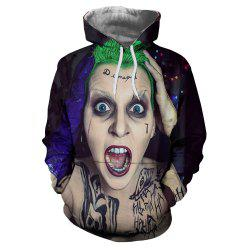 Fashion Personality 3D Female Funny Print Men's Hoodie Sweater -