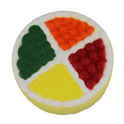 Jumbo Squishy Fruit Cake Toy -
