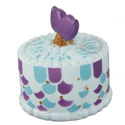 Jumbo Squishy Shark Cake Toy -