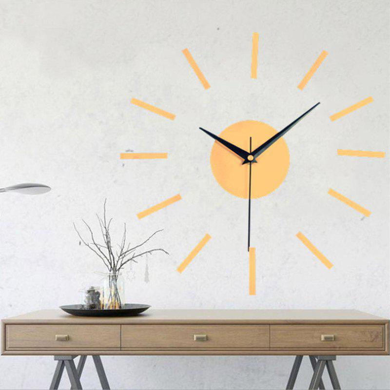 Outfit DIY Modern Contemporary Acrylic AA Wall Clock