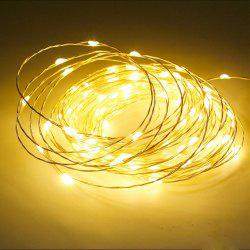 3PCS USB 5V 5M 50-LED Waterproof LED Decorative Light Strings -