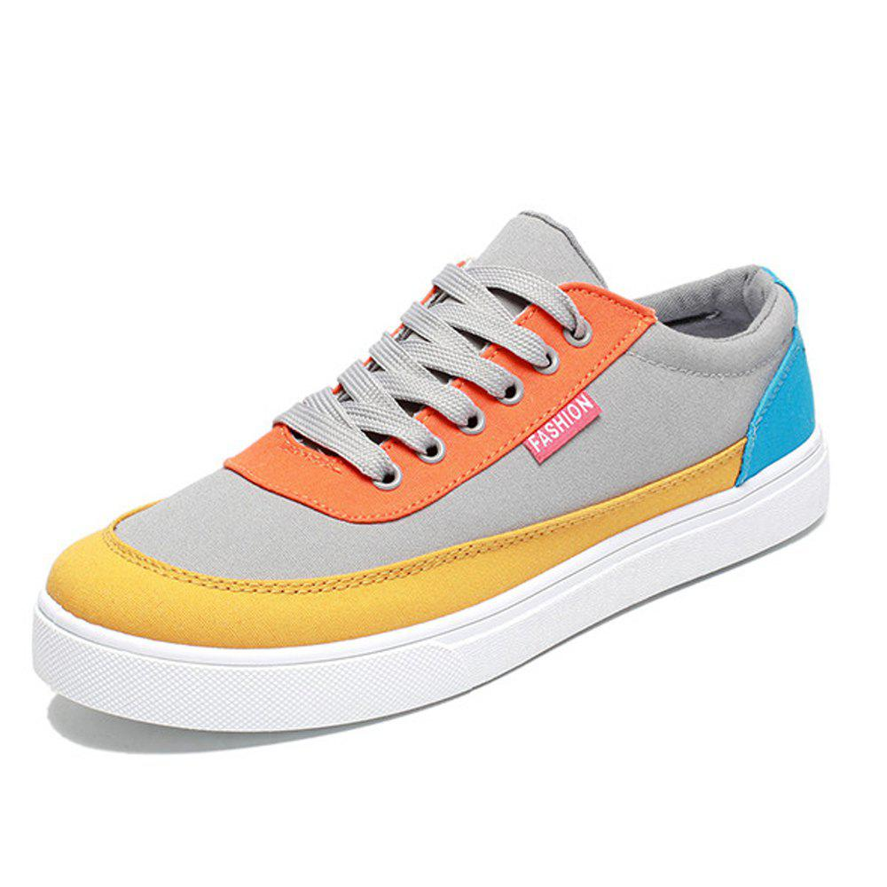 Buy Men's Trend Sports Go with Casual Canvas Shoes Breathable