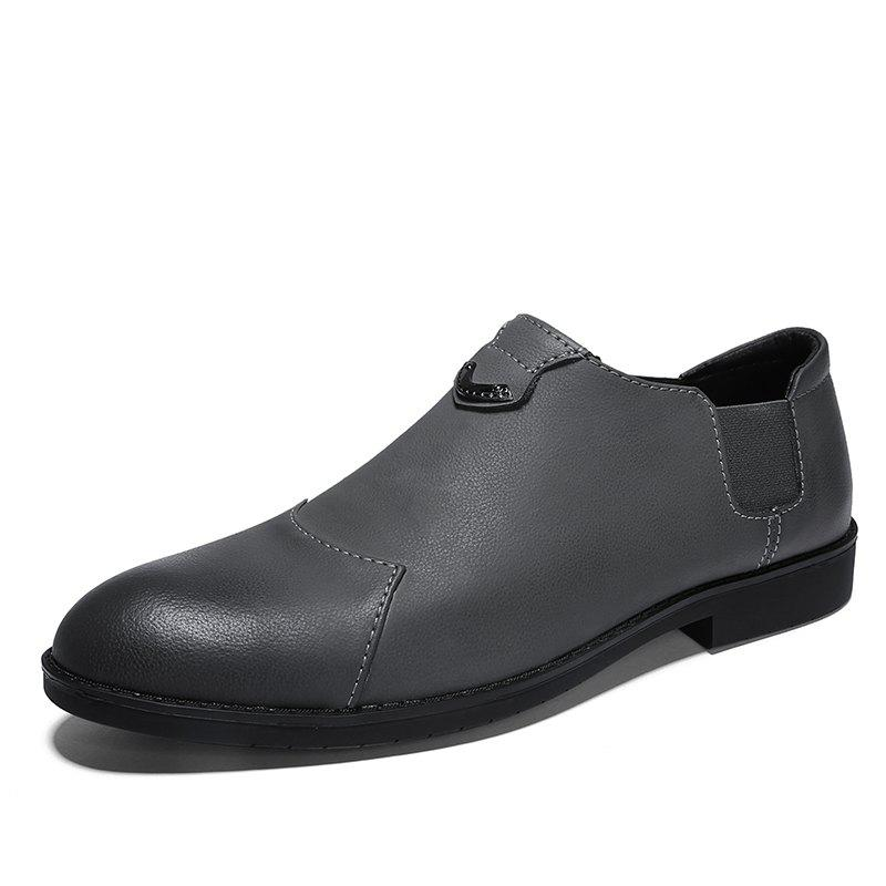 Buy Men'S Trend Flat Bottom Breathable Casual Leather Small Shoes