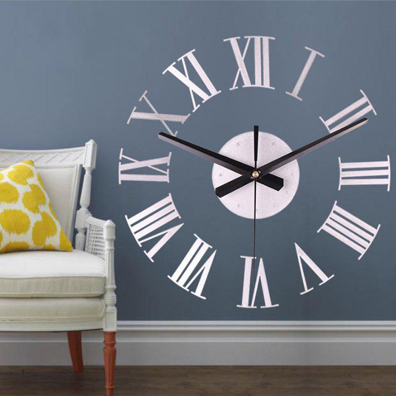 Latest Modern Contemporary Acrylic Round Novelty Indoor AA Wall Clock