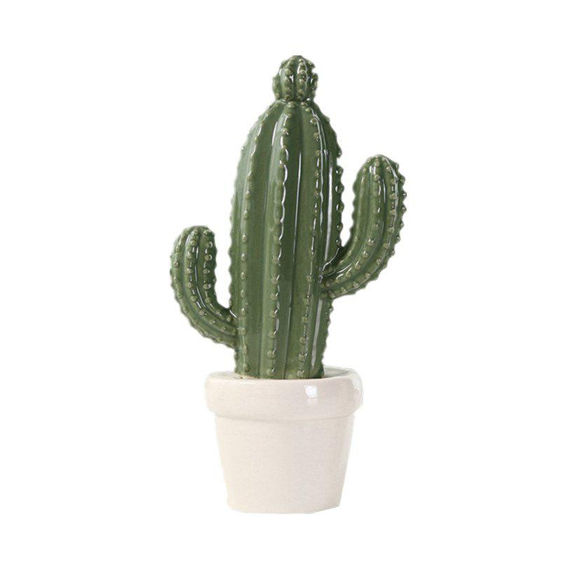 Best Simulation Cactus Prickly Pear Ceramic Decoration Fashion Wedding Desktop Gift