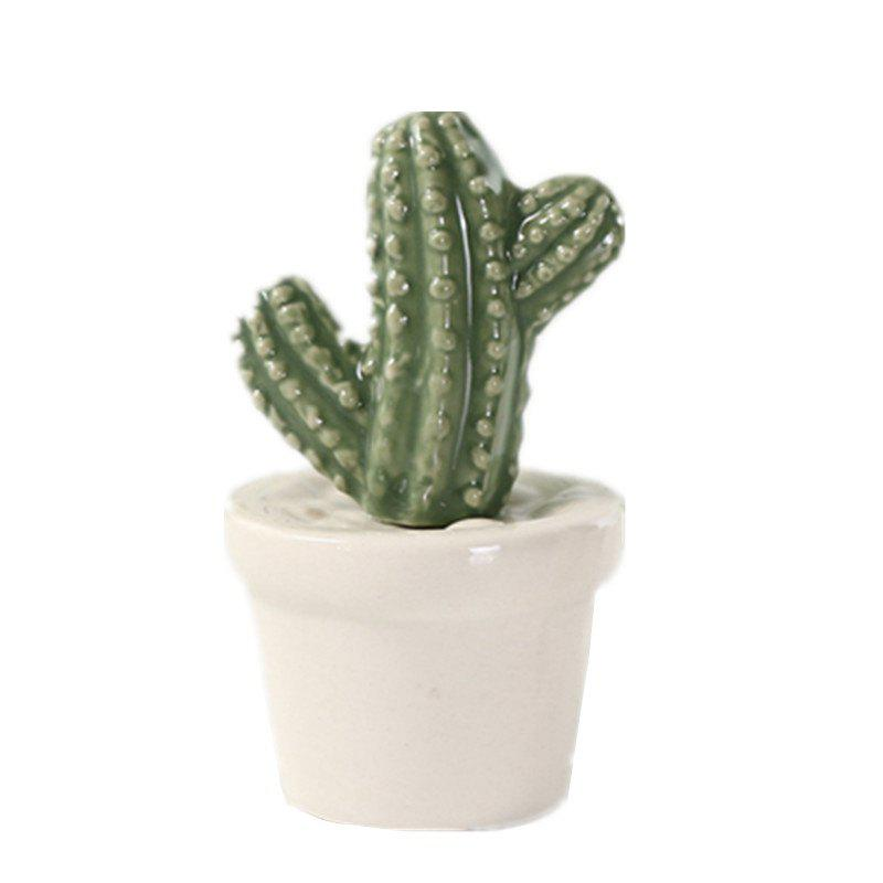 Store Simulation Cactus Prickly Pear Ceramic Decoration Fashion Wedding Desktop Gift