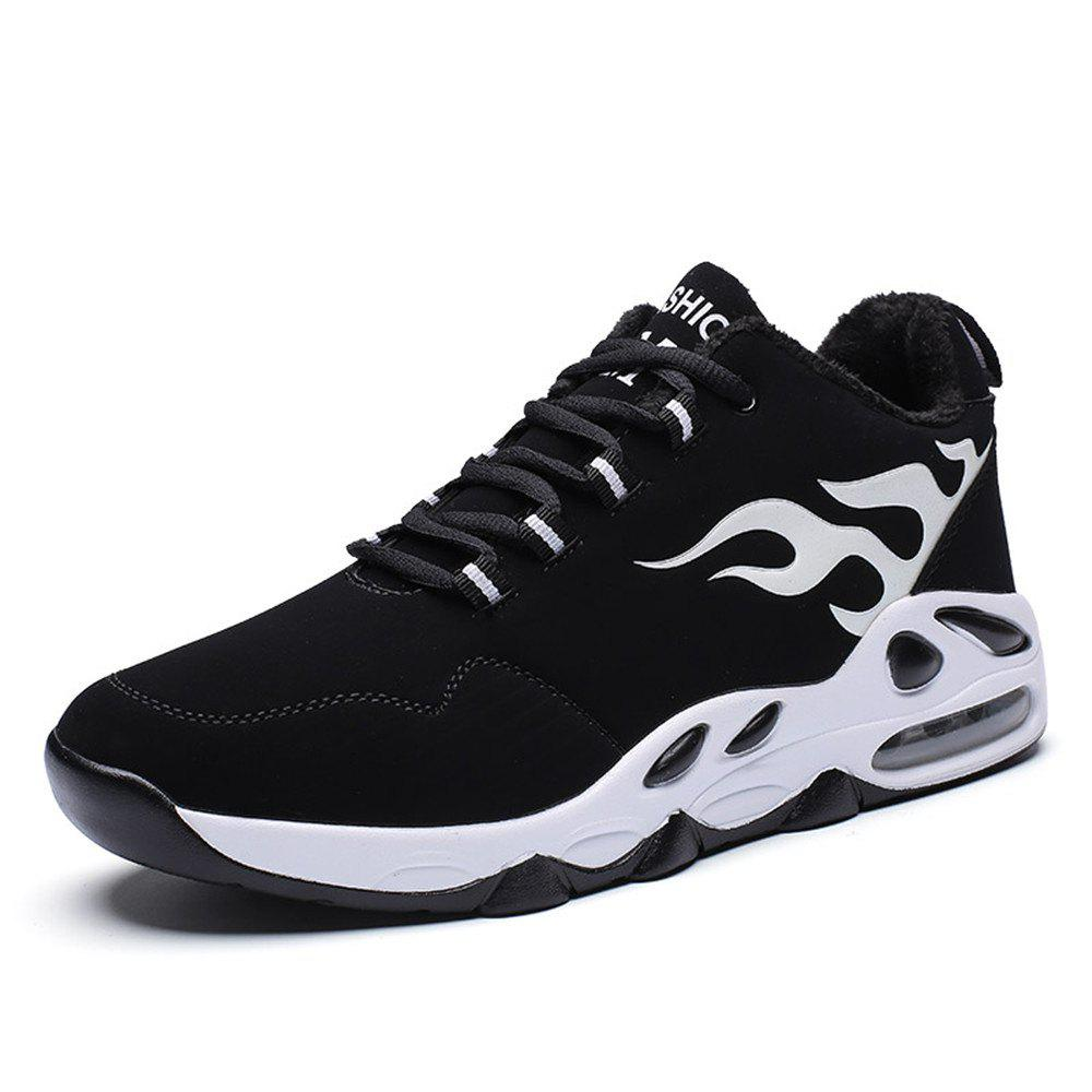 Trendy Men Fashion Casual Air Cushion Cotton Sports Running Shoes Size:37-45