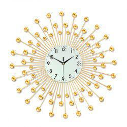 Creative Fashion Metal Mute Wall Clock -
