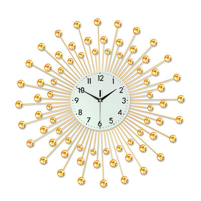 Affordable Creative Fashion Metal Mute Wall Clock