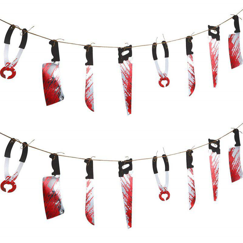 Fancy Halloween Decoration Plastic Knives for Home Party