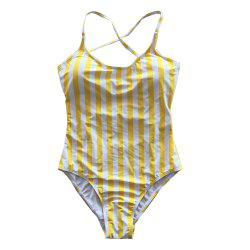 SleeWlM Printing Parent-Child Outfit Mom One-Piece Digital Printing Stripe -