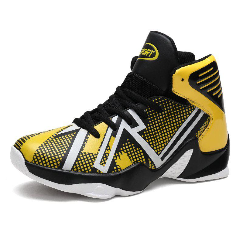 Outfit Spring High-top Sports Large Size Basketball Shoes