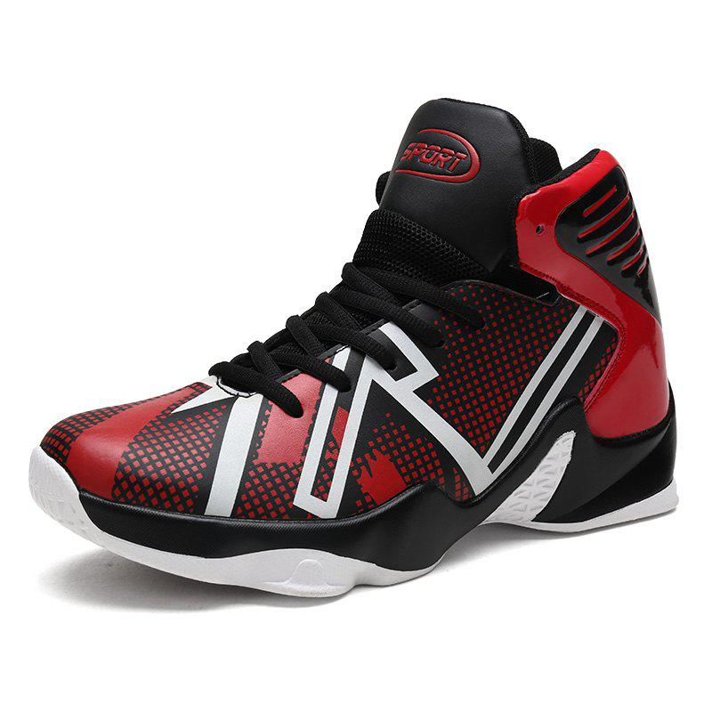 Shops Spring High-top Sports Large Size Basketball Shoes