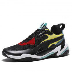 Men Flying Woven Shoes Casual Running Trainers Fitness Sneakers -