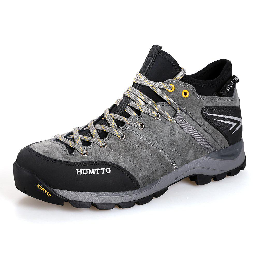 Online HUMTTO Men Outdoor Lace-Up Tactical Trekking Hiking Shoes EU Szie 39-45
