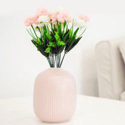 Carnation Bouquet Ornament Artificial Flowers for Home Decoration -