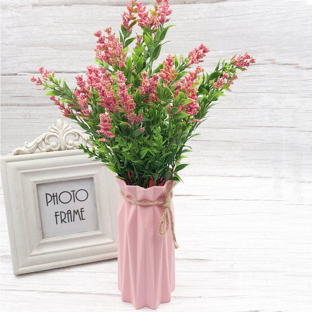Outfits Pink Lavender Artificial Flower Bouquet For Home Decoration