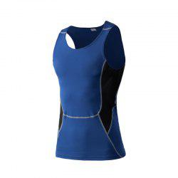 Men's Sports Fitness Stretch Wicking Quick-Drying Vest -