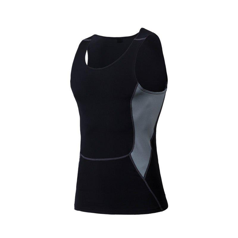 Outfits Men's Sports Fitness Stretch Wicking Quick-Drying Vest