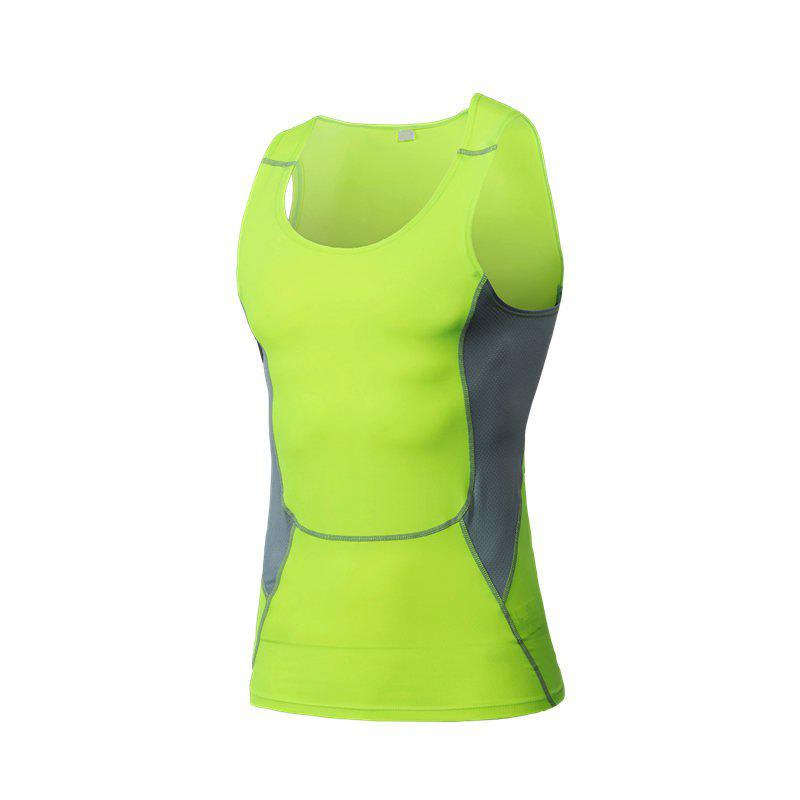 Affordable Men's Sports Fitness Stretch Wicking Quick-Drying Vest