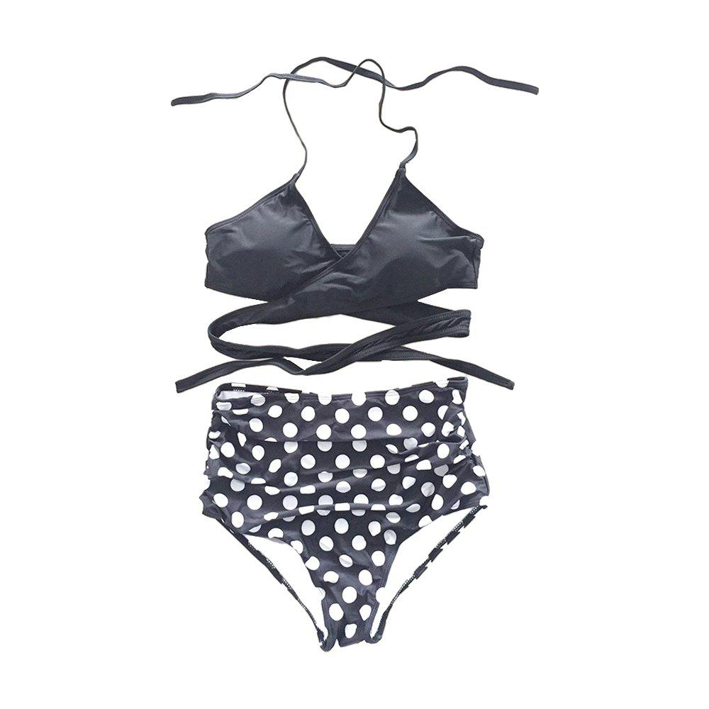 Fashion SleeWlM Printing Parent-Child Swimming Suit Outfit Mom Separates