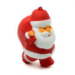 Slow Rebound Backpack Santa Claus Relief Toy Bag Accessories -