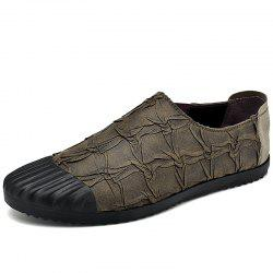 Men'S Lazy Set of Feet Casual Breathable Driving Peas Shoes -