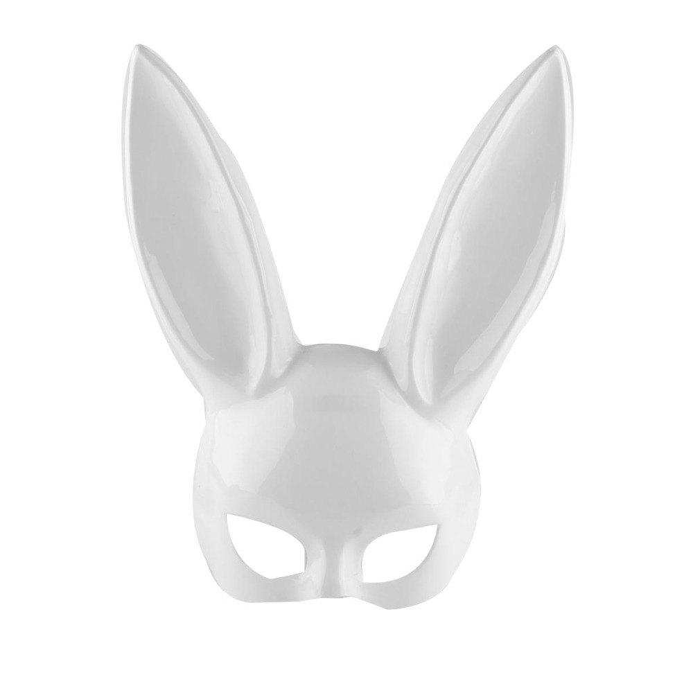 Outfits Party Masquerade Rabbit Masks Sexy Bunny Long Ears Carnival