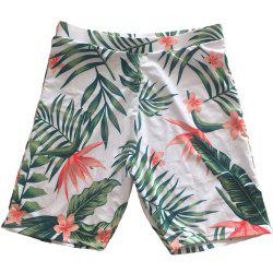 SleeWlM Printing Parent-Child Outfit Family Pack Beach Men Swimming Trunks -