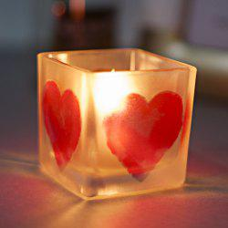Creative Home Decor Glass Candle Holder for Wedding Birthday Party -