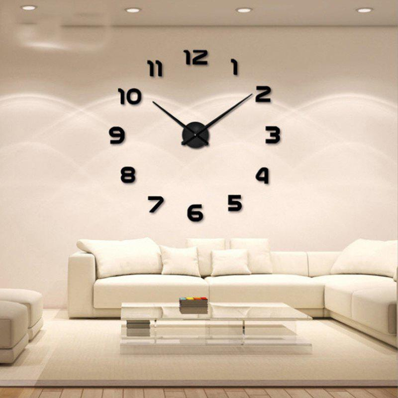 Shop Personalized Big Wall Clock Acrylic Mirror Modern Home Decoration