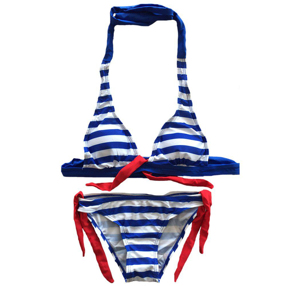 SleeWIM Sex Appeal Imprimé Stripe Fission Maillot De Bain