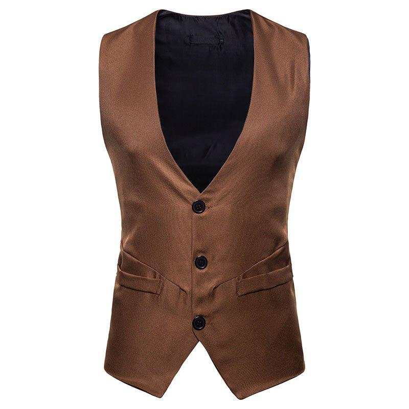 Buy Men's Fashion Casual Short Vest