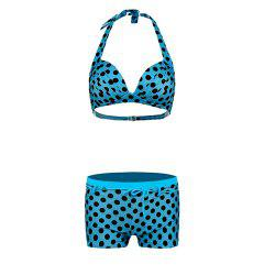 Wave Point Printing Sexy Swimsuit -