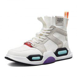 Men'S High-Top Breathable Fashion Trend Sports Shoes -