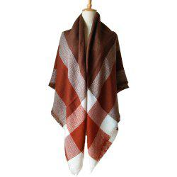 Beautiful Soft Lady'S Square Scarf -