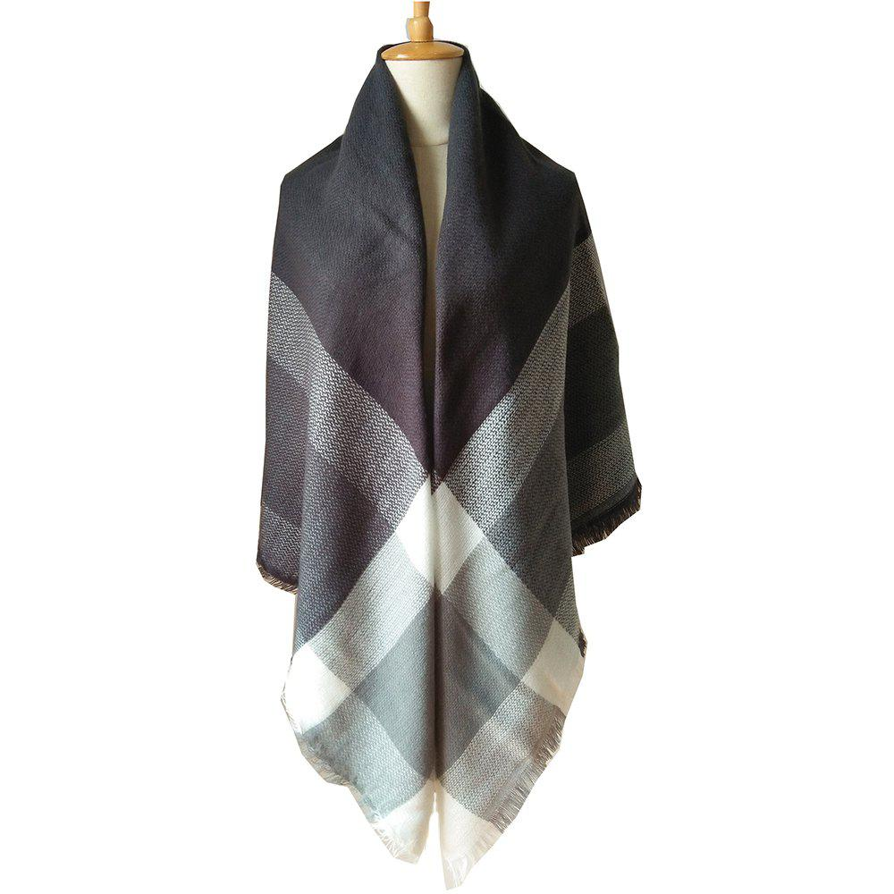 Online Beautiful Soft Lady'S Square Scarf