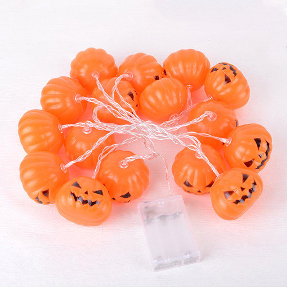 Outfits 110 Inch Pumpkin String LED Light Battery  Plug Power S-upply