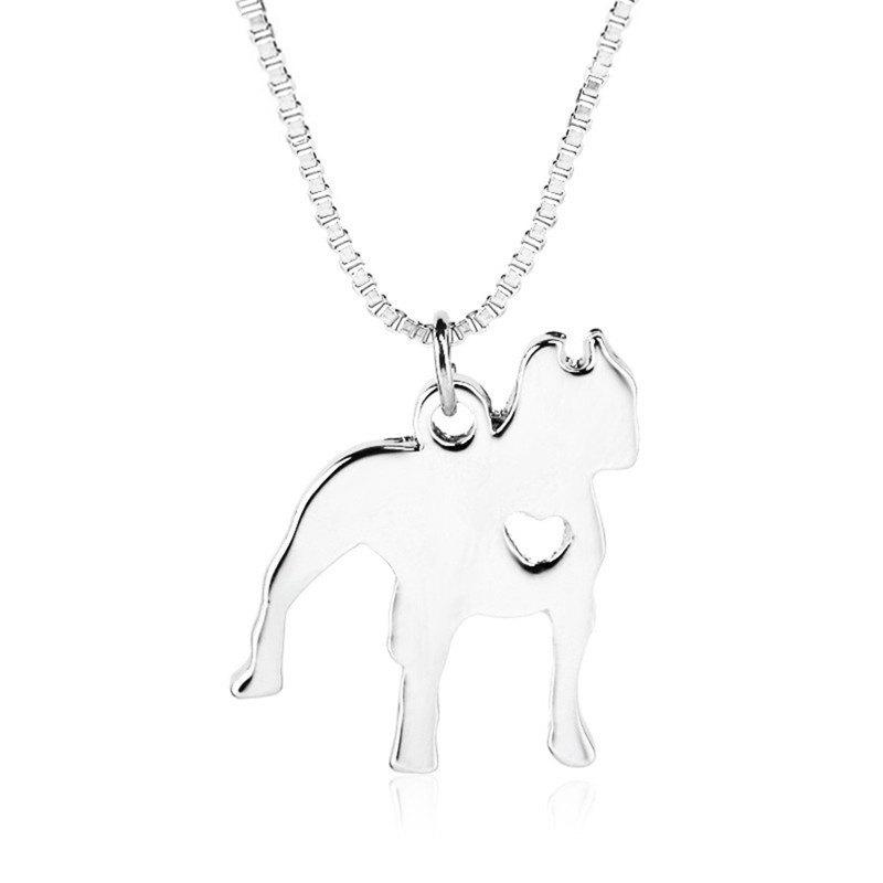Discount Simple and Elegant Casual Man and Dog Shape Alloy Necklace