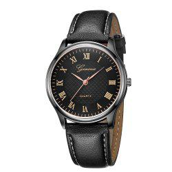 Fashion Casual Neutral Ultra-Thin Quartz Watch -
