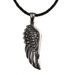 Fashion Men's Angel Wing Necklace -