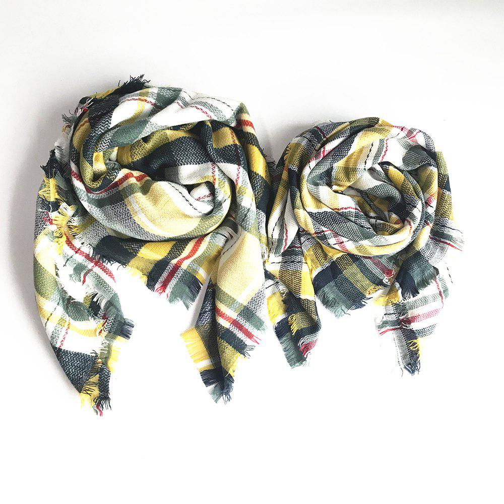 Outfits The Soft Parent-Child Scarf