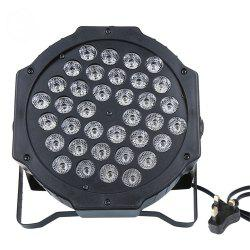 72W 36LED RGB Stage Light DMX512 Flat Par Lamp Club для DJ Disco Party Lighting -