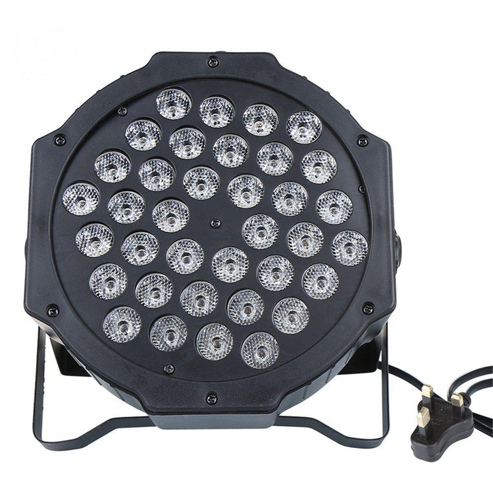 72W 36LED RGB Stage Light DMX512 Flat Par Lamp Club для DJ Disco Party Lighting
