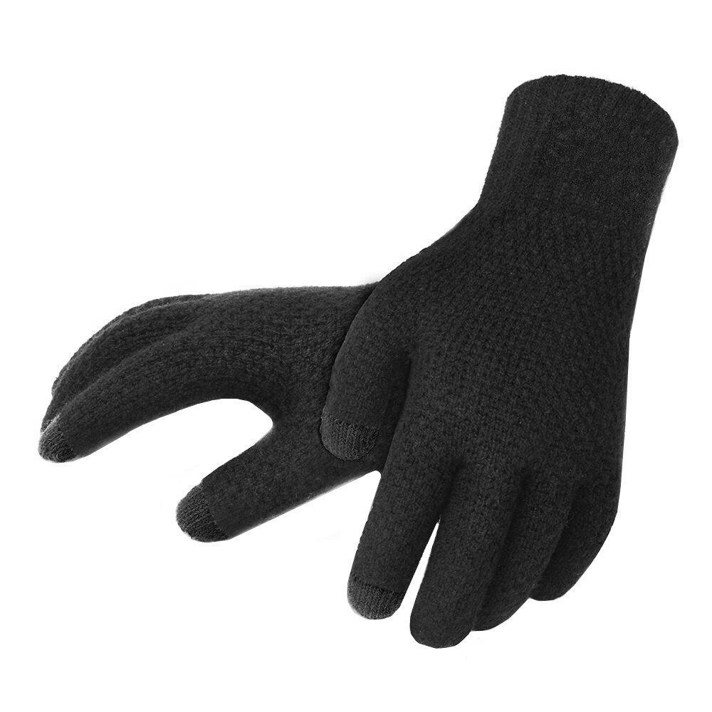 Outfits Winter Men Knitted Gloves Touch Screen High Quality Warm Cashmere