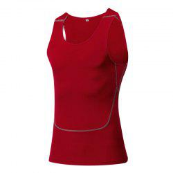 Men's Sports Fitness Running Stretch Wicking Quick-Drying Vest -